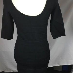 MNG Black Slimming Dress - L (EUC)